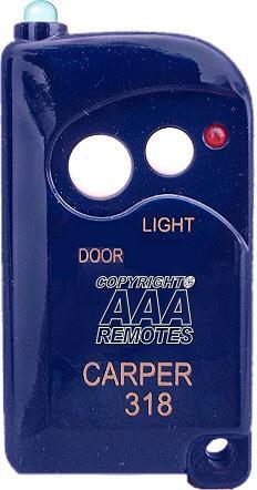 Carper Gate Or Garage Door Transmitter Model 318 Allister