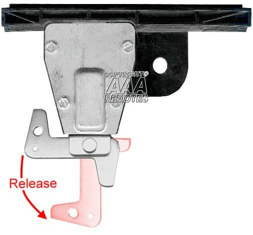 Genie Garage Door Opener Chain Glide Carriage Assembly