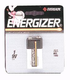 Eveready 9 Volt Replacement Garage Door Opener Battery