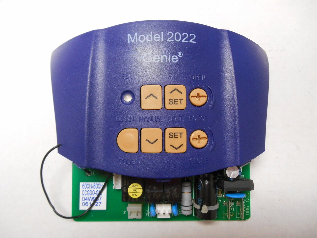 Circuit Board For The Overhead Door Model 2022 Aaaremotes