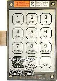 Genie 20235r Garage Door Opener Replacement Keypad And
