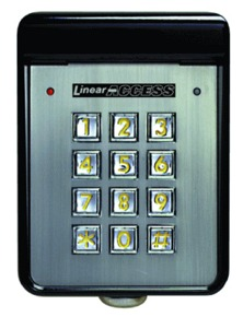 Linear Wired Keypad Model Am Kp Aaaremotes