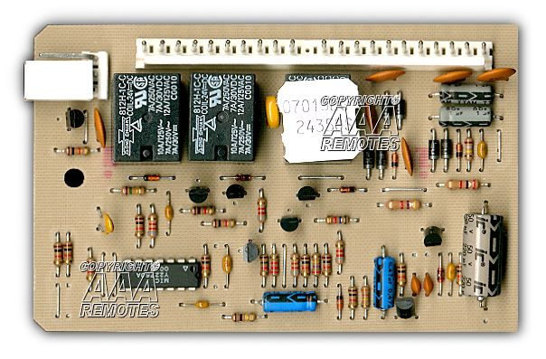Genie Garage Door Opener Sequencer Circuit Board 24350s